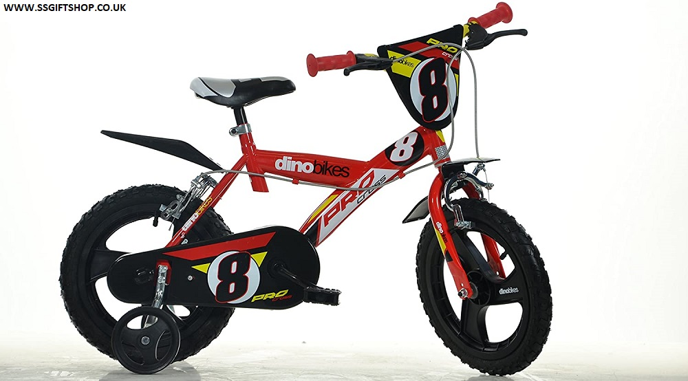Dino BIKES SPORT 163 GLN 16 inch KIDSBIKE BOY CHILD -BIKE (RED)