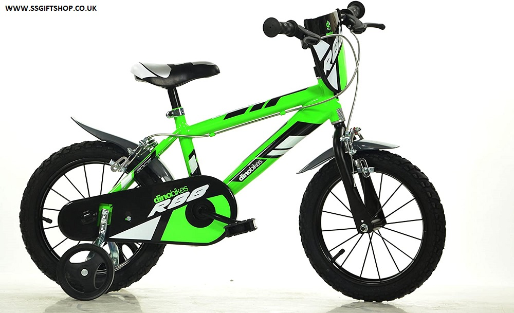 Dino MTB 416U 16 inch KIDSBIKE  BOY CHILD-BIKE (GREEN)
