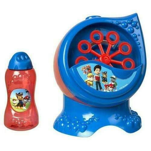 PAW Patrol Character Bubble Blowing Machine.
