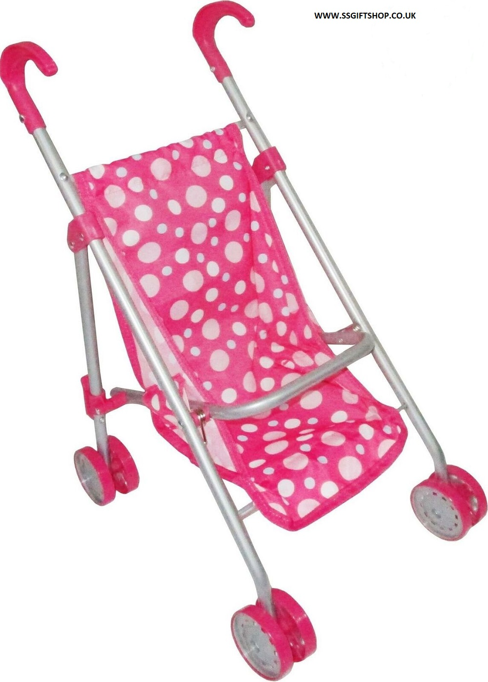 Pink Baby Doll Pushchair.