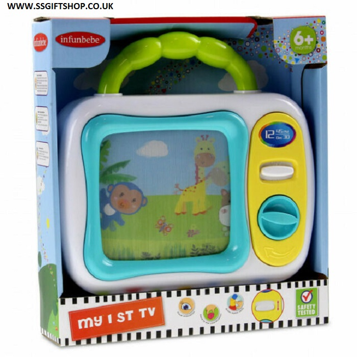 Kids My 1st TV Interactive Learning Activity Toy.