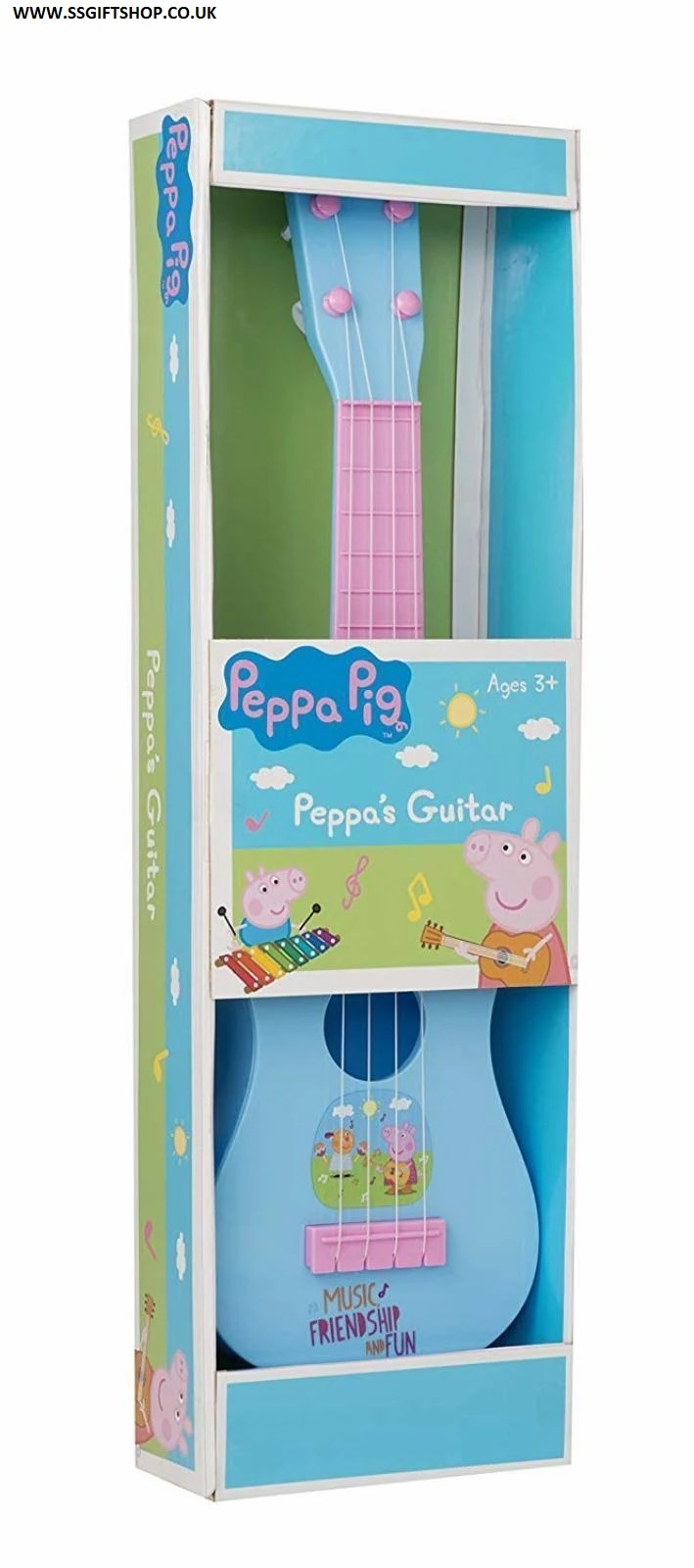 Peppa Pig Acoustic Guitar