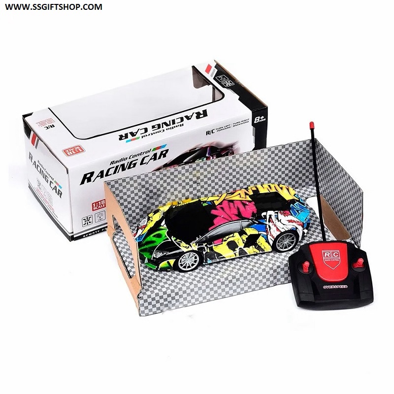 RC CAR - Auto A Remote Control 4 Ways 1:16
